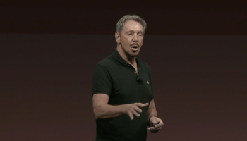 Oracle co-founder Larry Ellison slams Amazon Web Services in OpenWorld keynote, also mentions new database product