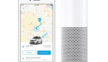Amazon's Alexa can now reserve a car2go, the newest of the digital assistant's 25K skills