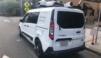 Apple Maps van