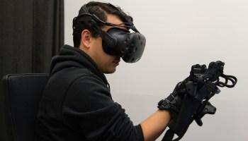 HaptX reveals high-tech haptic gloves that let you feel and touch in virtual reality