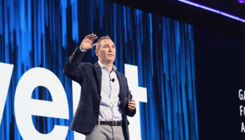 All's fair in love and new databases for Amazon Web Services CEO Andy Jassy