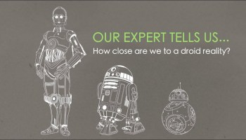 Paul Allen's tech advisor talks C-3P0, R2-D2 and BB-8 and how close Star Wars droids are to reality