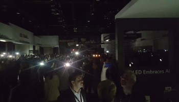 Lights out at CES: Giant trade show plunges into darkness, knocks out Samsung, LG, and other booths
