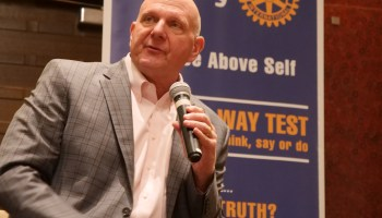 Amazon and Seattle's NBA dreams: Steve Ballmer on the city's prospects for bringing back the Sonics