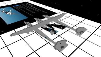 VR SpaceShipTwo
