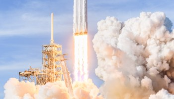 Year in Space: From the Falcon Heavy's first flight to the solar system's last frontier