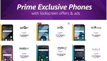 Amazon ditching lock screen ads on Prime discount smartphones in exchange for $20 price increase