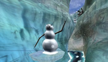SnowWorld melts away pain for burn patients, using virtual reality snowballs