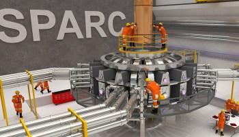SPARC fusion experiment