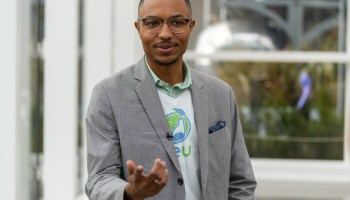 Seattle entrepreneur who found success on Elevator Pitch wins $50K at National Black MBA Conference