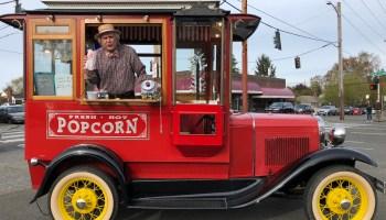 Popcorn truck