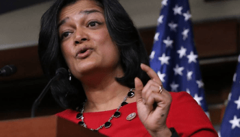 Rep. Pramila Jayapal grills T-Mobile CEO John Legere on Trump hotel stays