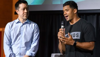 Russell Wilson's TraceMe celebrity app cuts staff, closes L.A. office, pivots to sports prediction game