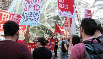In cities competing for Amazon HQ2, reaction to tech giant's Seattle tax battle is all over the map