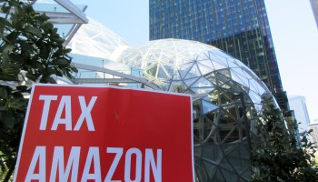 'Tax Amazon' activists petition for ballot initiative to raise $300M/year for affordable housing