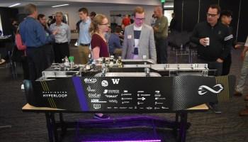 Washington Hyperloop pod racer