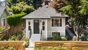 Reinvigorated Crown Hill Craftsman Designed for Living in Today's Modern World