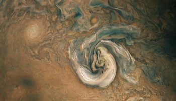Jupiter as seen by Juno