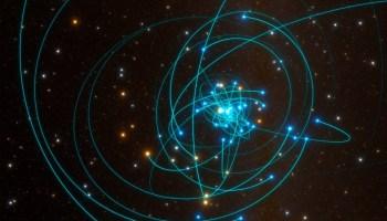 Stars at Milky Way's center