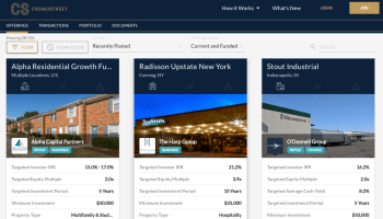 Real estate investment platform CrowdStreet raises $8M to develop new products and services