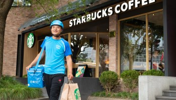 Starbucks and Alibaba to integrate apps and partner on delivery as coffee culture takes hold in China