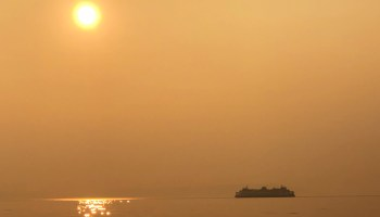 Across Seattle, social media looks more like smoke signals as users share images of hazy skies