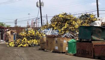 Is this Ofo bike graveyard in Dallas a glimpse into Seattle's future?