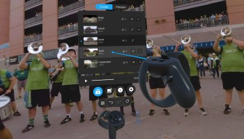 Pixvana's new virtual reality production software lets you edit VR content while wearing a headset