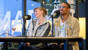 Startup success stories from two winners of GeekWire's Elevator Pitch