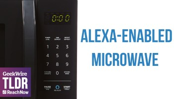 TLDR: Amazon unveils Alexa-enabled microwave