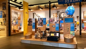 Gates Foundation exhibit showcases innovative designs for improving lives in the developing world