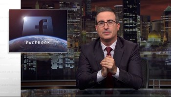 'Calling Facebook a toilet is a little unfair to toilets': HBO's John Oliver flush with anger for social giant