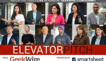 Binge-watch our Elevator Pitch video series before this week's GeekWire Summit showdown