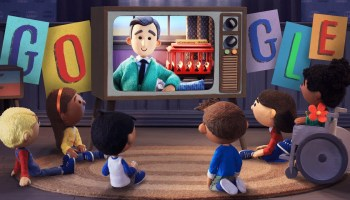 Watch: Google Doodle celebrates Mister Rogers with a touching, stop-motion animated video
