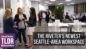 The Riveter goes east: Inside the female-focused co-working company's newest space