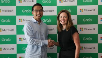 Microsoft jumps into ride-hailing again with investment in Grab