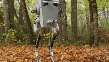 The Star Wars fix we were looking for: Students turn their bipedal robot into a convincing AT-ST Walker