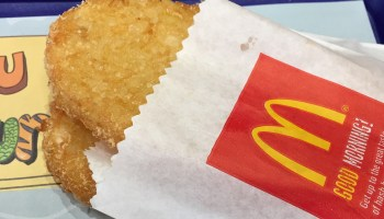 Man fights distracted driving ticket; says police mistook McDonald's hash brown for cell phone