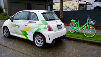 We tested Lime's new car-sharing service, LimePod, that will take on BMW and Daimler in Seattle
