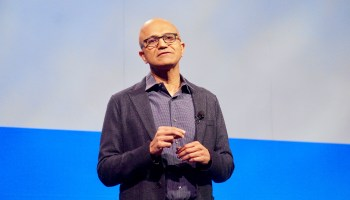Microsoft marks record year at annual meeting as it rivals Apple for title of most valuable U.S. company
