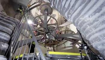 10,000 Year Clock construction