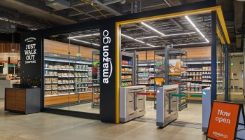 New compact Amazon Go store opens the door for locations in office lobbies, hospitals and more