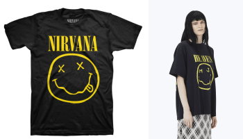 Nirvana not smiling after filing lawsuit against designer Marc Jacobs over 'Bootleg Grunge' shirt