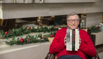 Bill Gates picks his 5 favorite books for 2018