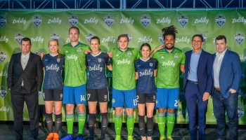 Seattle Sounders and Reign FC unveil new jersey sponsor, replace Microsoft with online retailer Zulily