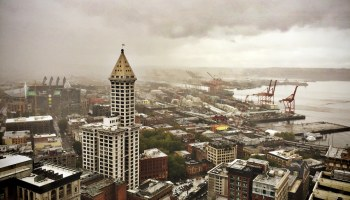 Seattle's historic Smith Tower and an Amazon-occupied building sell to Goldman Sachs affiliate as part of $710M deal