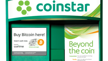 Cryptocurrency at the grocery store: Coinstar launches bitcoin purchasing feature at kiosks