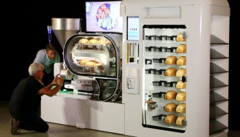 This bread-baking robot can make 10 fresh loaves an hour from scratch — no human required