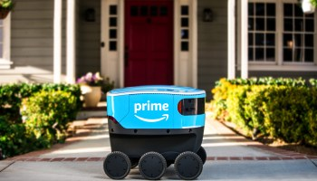 Amazon rolls out autonomous package-delivery robot 'Scout' to a test area north of Seattle