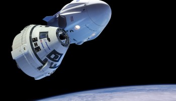 Boeing Starliner and SpaceX Crew Dragon